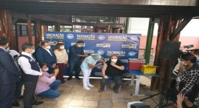 Mais uma categoria começa a vacinar contra a covid-19 no Maranhão