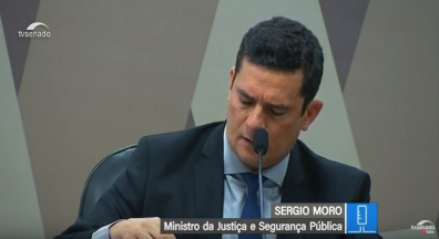 Moro fala à CCJ sobre troca de mensagens com coordenador da Lava Jato