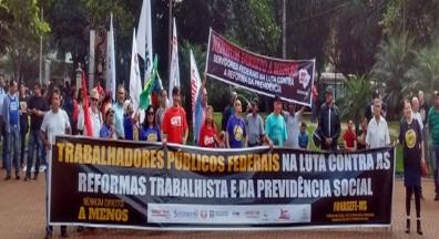 No MS, sindicatos discutem unificação para fortalecer luta dos servidores