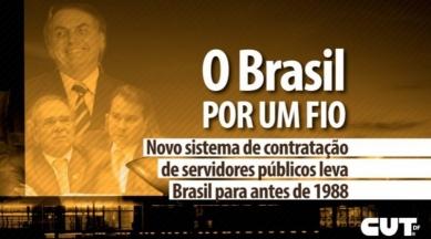 Novo sistema de contratação de servidores públicos leva Brasil para antes de 88