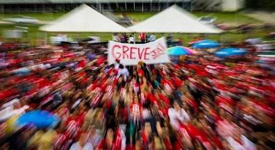 Parados: greves de funcionários públicos aumentam 93% em seis anos