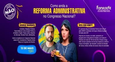 Parlamentares, artistas e influenciadores lançam manifesto contra PEC 32