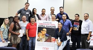 Pela liberdade incondicional de Luisa Hanune