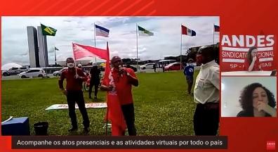 Reforma Administrativa e fim do auxílio são alvo de protestos pelo Brasil
