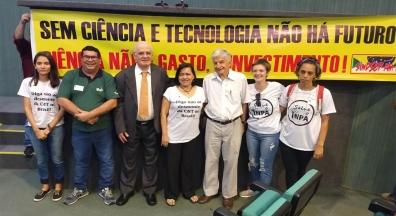 Secretário do Sindsep-AM participa na ALE de audiência sobre ciência na Amazônia