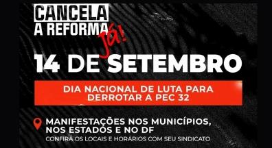 Semana de mobilização contra PEC 32 tem pressão a parlamentares e Dia Nacional de Luta