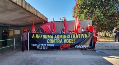 Servidores da base do Sindsep-DF dizem não à reforma administrativa