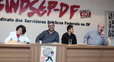 Sindicato promove debate sobre dívida pública