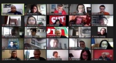 Sindiserf-RS participa do Encontro do Macrossetor do Serviço Público da CUT-RS