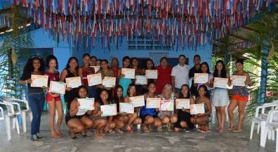 Sindsep-AP certifica alunas do Curso de Bijuterias em São Joaquim do Pacuí