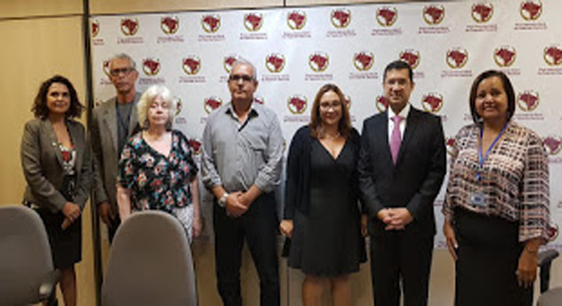 Sindsep-ES participa de reuniões em Brasília