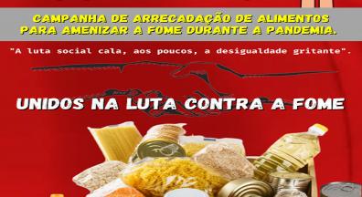 Sindsep-MA lança Campanha de Arrecadação de Alimentos