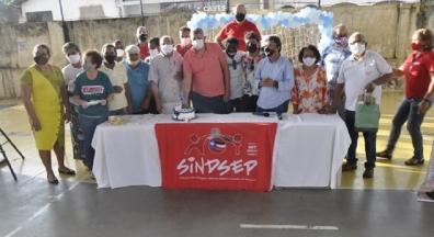 Sindsep-MA realiza atividade para comemorar Dia dos Pais