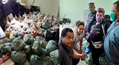 Sindsep-MG doa cestas básicas para população carente de Belo Horizonte