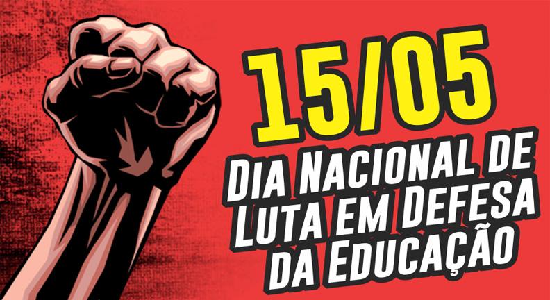 Sinfa-RJ convoca servidores para ato da Greve Nacional da Educação!