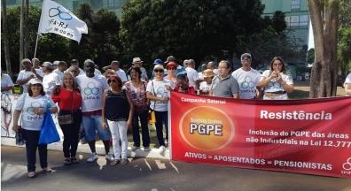Sinfa-RJ participa da Marcha dos Servidores e se reúne com Defesa e Planejamento