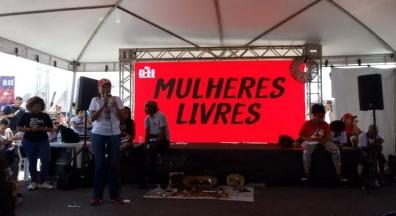 SINSEP-PI participa de ato em defesa das mulheres na política, em Brasília