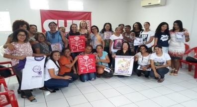 Sinsep-PI participa de construção coletiva e unificada do '8 de Março'