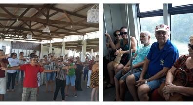 Sintsef-RN realiza atividade eco cultural com aposentados/as e pensionistas