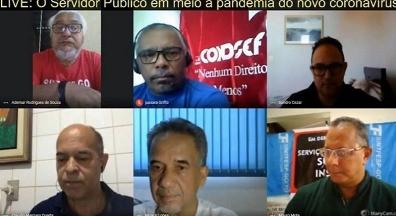 Sintsep-GO e entidades nacionais debatem serviço público em meio à pandemia