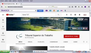 TST vai apresentar proposta mediada a empregados da Ebserh pelo YouTube